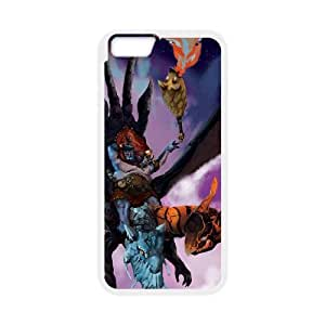 JAKIRO iPhone 6 Plus 5.5 Inch Cell Phone Case White DIY Gift pxf005-3578744