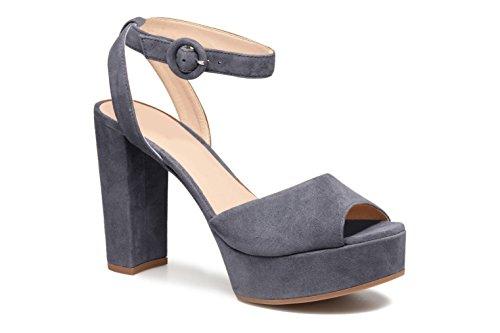 Zapatos gris de 11sunshop para vestir mujer XBUdqx