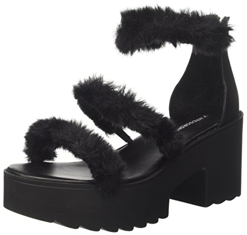 Windsor Smith Amarissa, Sandalias con Punta Abierta Para Mujer Nero (Leather Black 001)