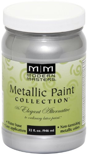 Modern Masters ME150-32 Metallic Silver, 32-Ounce