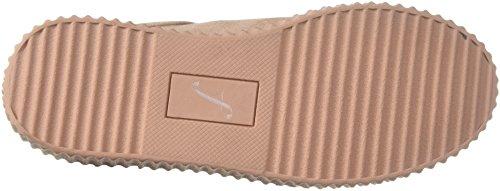 De Fix Womens Tanner Creeper Fashion Sneaker Petal Blush