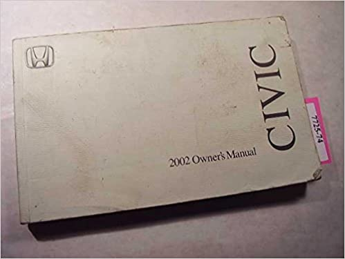 2002 honda civic coupe owners manual honda amazon books sciox Image collections