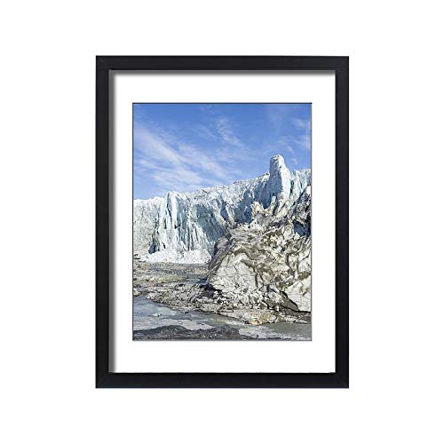 - Media Storehouse Framed 24x18 Print of Russell Glacier at Greenland Ice Sheet, Kangerlussuaq, Greenland (18241931)