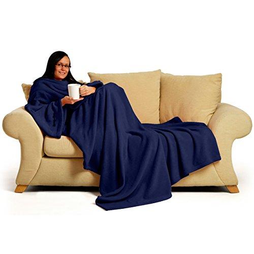 Snug~Rug Deluxe Coral Fleece... The Blanket with Sleeves, Adult 60' x 84' -...