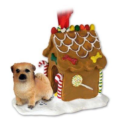 Spaniel Gingerbread - Tibetan Spaniel Ginger Bread House Ornament