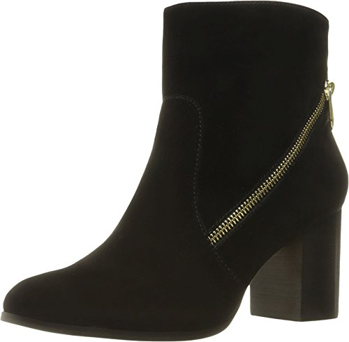 Women's Bob Black Vittadini Footwear Bootie Ankle Kidsuede Adrienne USvqwR
