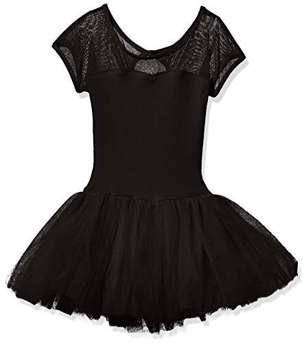 (Capezio Girls' Little' Keyhole Back Tutu Dress, Black, Small )