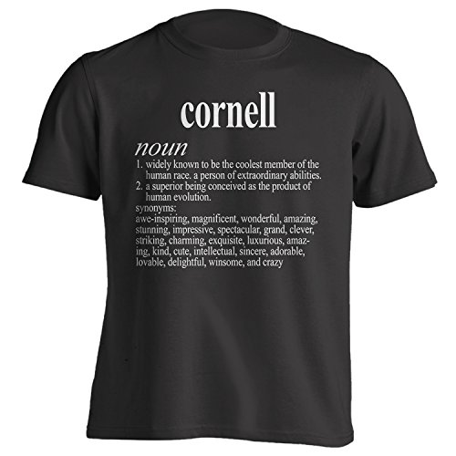 You've Got Shirt Vintage Style Cornell Funny First Name Definition Adult T-Shirt XL Black Cornell Vintage Apparel