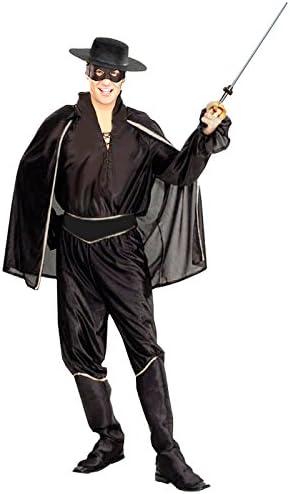 Disfraz El Zorro hombre para Carnaval: Amazon.es: Juguetes y juegos