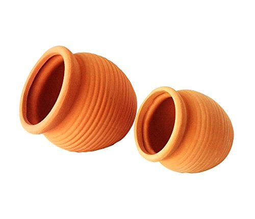 newly-designed-small-set-of-2-different-size-natural-terracotta-fallen-pots-or-hanging-potsplease-re