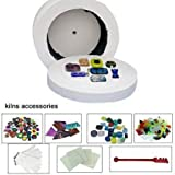 8pcs Set of Large Microwave Kiln Kit For Glass Fusing In...