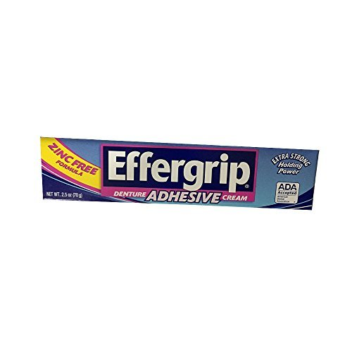 Special pack of 6 Effergrip Effergrip Cream 2.5 (Effergrip Cream)