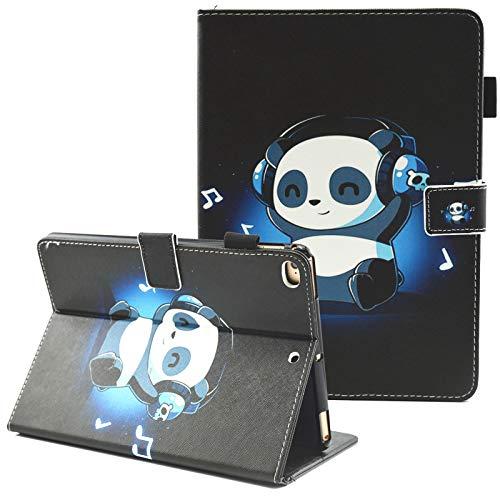 03 Paint Protection - iPad Mini Case, iPad Mini 2 Case, iPad Mini 3 Case, iPad Mini 4 Case, Fvimi Multi-Angle Viewing Folio Smart Leather Cover with Auto Sleep/Wake Function for Apple iPad Mini 1/2/3/4, Music Panda