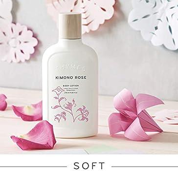 225 g New Thymes Kimono Rose Single wick Candle 9.0 oz net wt