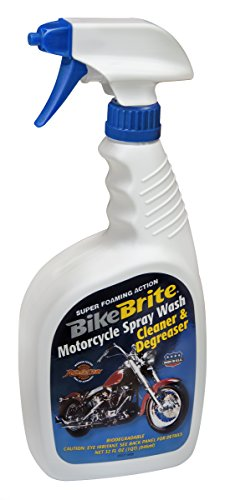 Bike Brite MC44 Blue Motorcycle Spray Wash Cleaner and Degreaser - 32 fl. oz.