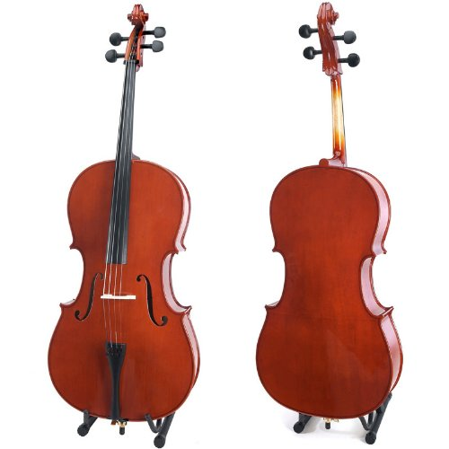 Cecilio CCO-100 Student Cello, Size 4/4 (Full Size) High Luster Varnish Cello