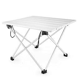 Kalili Ultralight Aluminum Portable Folding Camping Table