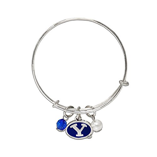 Fan Frenzy Gifts NCAA Brigham Young University Bangle Charm Bracelet
