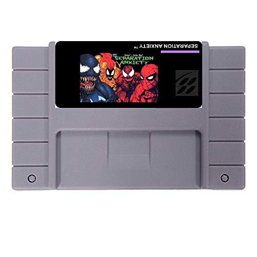 Hot 46 Pin 16 Bit NTSC Game Cartridge Spiderman - Man Game Spider Cartridge
