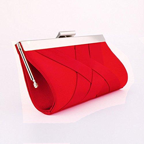 LA HAUTE - Cartera de mano para mujer rojo red red
