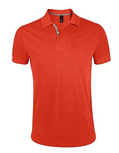SOL´S Men´s Polo Shirt Portland, XL, Burnt Orange