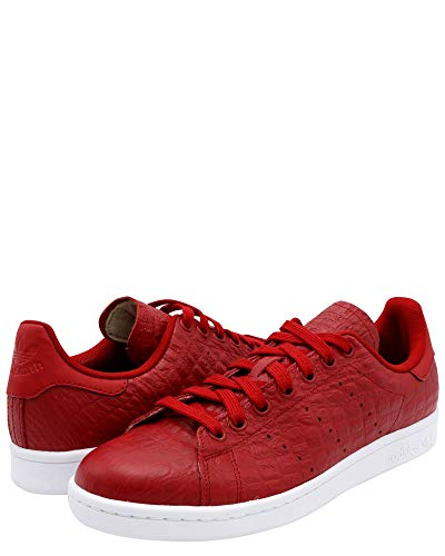 Pour M Smith Reptile Rouge Adultes Adidas Baskets Stan Red Basses unisexe Originals S5wgqRBnO