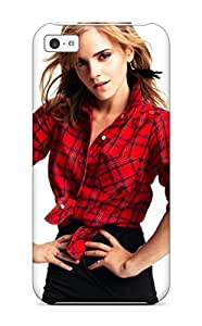 Iphone 5c Hard Back With Bumper Silicone Gel Tpu Case Cover Watson Celebrity Beautiful Emma Gorgeous People Celebrity