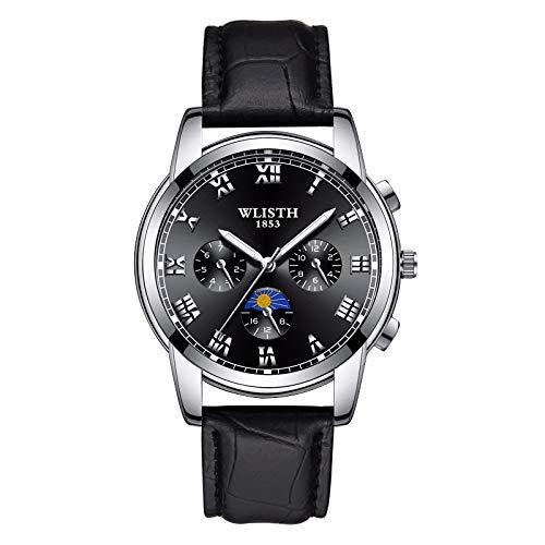 Waterproof Watch, Casual Compass Digital Outdoor Sports Watch for Men, Fashion Stopwatch Countdown Military