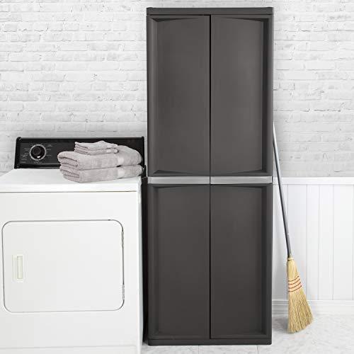 Sterilite 01423V01 4 Shelf Cabinet