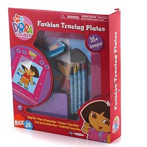 - Dora the Explorer - Toys - Fashion Tracing Plates