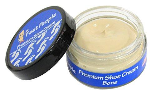 (FeetPeople Premium Shoe Cream 1.5 oz, Bone)