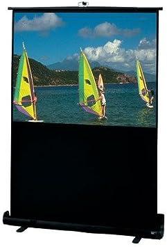Amazon Com Traveller Matte White Portable Projection Screen Viewing Area 47 Diagonal Electronics