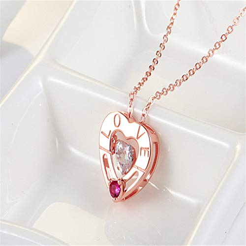 Tiny Heart Necklace For Women Short Chain Heart Star Pendant Necklace Gift Necklace Drop Shipping