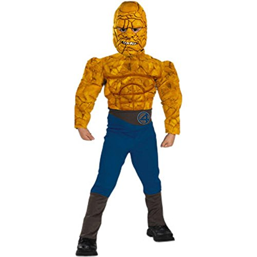 Kids Muscle Chest The Thing Costume - Child Size (Fantastic Four Thing Costume)