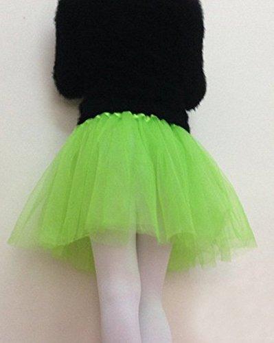 Molly Femmes Vrac Tulle Tutu Jupes Ballet De Danse Vert