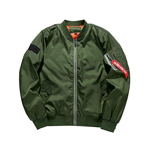 xl Uomo Green In Imbottito Cotone Collo Da Slim army Uomo Sunny Giacca CwqPO6PH