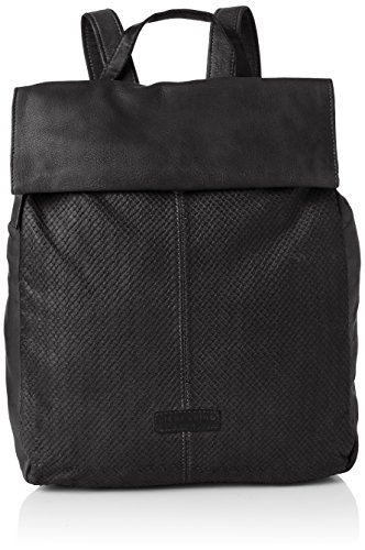 W Delrey L Women's Berlin x Shoulder cm 10x39x31 Oil Black City Black Liebeskind H Handbag x F8ExHS