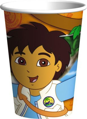Amscan Go Diego Go! Cups - 8 ct
