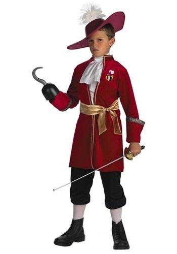 [Captain Hook - Size: Child M(7-8)] (Disney Dress Up For Boys)