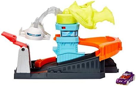 Hot Wheels GBF94 - City Flugsaurier Attacke, Spielzeug ab 4 Jahren