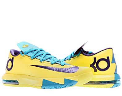 Nike KD VI Mens Basketball Shoes 599424-700 Sonic Yellow 12 M US