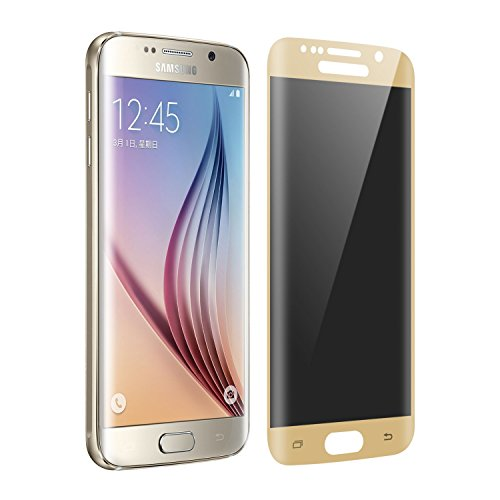 Screen Protectors for Samsung Galaxy S6 Edge Privacy Anti-fingerprint Tempered Glass Case Friendly screen protector