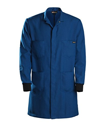 357NX45RB3L0L - 3X-Large, Long - Workrite FR Nomex Men's Knit Cuff Flame Resistant Lab Coat - Each ()