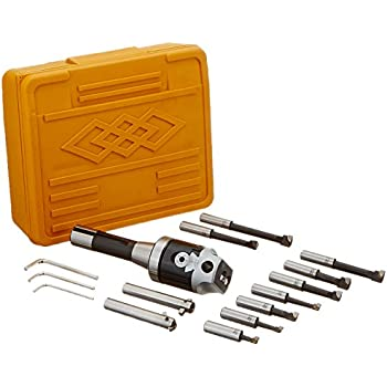 Grizzly H5939 R-8 Boring Head Set 18-Piece