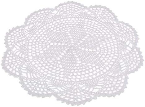 テーブル ドイリーマット かぎ針編み レース プレースマット カップ ボウル ポット 花瓶 ホルダー 装飾