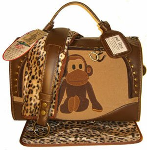 Uncle Monkey Pet Carrier by PetFlys : Size SMALL by Pet Flys
