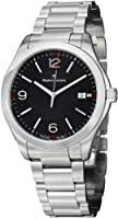 Maurice Lacroix Miros Date Black Dial Stainless Steel Mens Watch MI1018-SS002330 from Maurice Lacroix