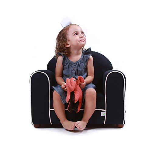 Keet Premium Organic Children's Chair, Navy (Brand Sofas Name)