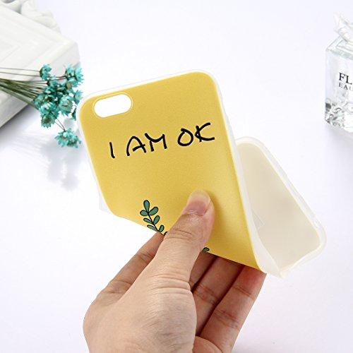 Phone Case & Hülle Für iPhone 6 Plus & 6s Plus TPU bereifte geprägte Wassermelone-Muster-schützende Fall-rückseitige Abdeckung ( Size : Ip6p5304k )