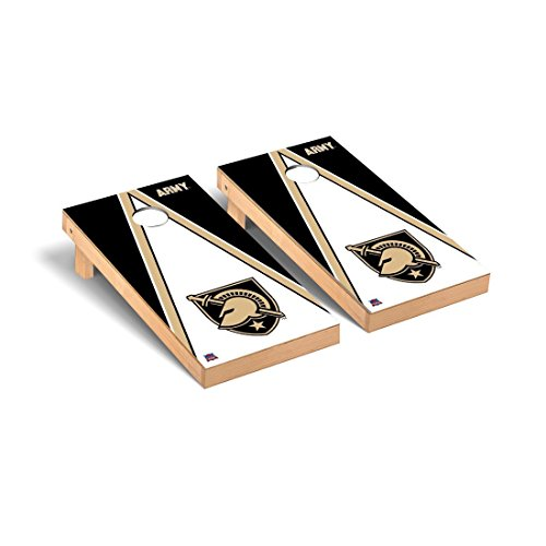 Army Black Knights Desktop Cornhole Game Set Triangle Version (Tabletop Black Knights Army)